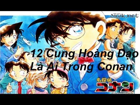 12 cung hoàng đạo là ai trong Conan