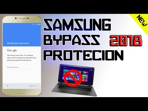 SAMSUNG BYPASS FRP 2018 PROTECTION LOCK GOOGLE ACCOUNT ON ANY SAMSUNG DEVICES