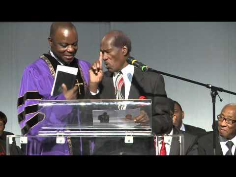The Funeral Service of Pastor Richard Holder