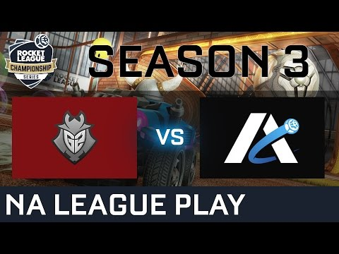 G2 Esports vs Atelier NA League Play - RLCS S3