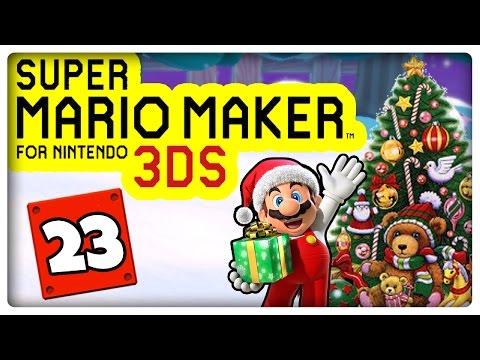 SUPER MARIO MAKER 3DS Part 23: So erlebte ich Weihnachten 2016