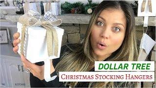 DIY Dollar Tree Stocking Hangers | Dollar Tree Christmas Decor 2018