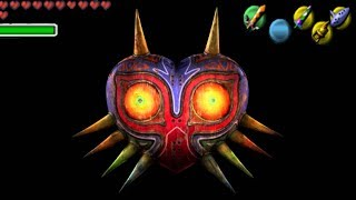 Chi Makes Life Size Majora's Mask Papercraft!
