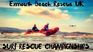Surf Rescue Life Saving Championships - Rescue Boat & Drone Footage