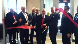 Ribbon Cutting At Griffiss International Airport  2 26 15