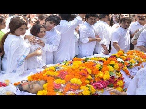 Aadesh Shrivastava's Funeral