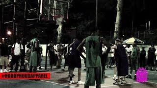 【ストリートバスケ】日本人VSアメリカ人 (場所はアメリカ)