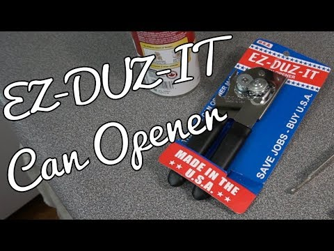 Ez Duz It Can Opener - First Can!