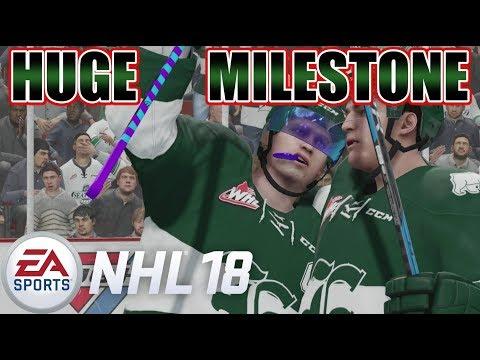 40 GOAL SEASON BABY! - NHL 18 Be a Pro #21 [Sniper]