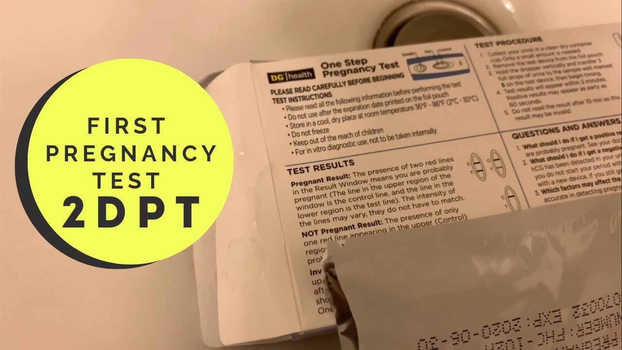 First Pregnancy Test 2DP5DT | IVF 2019