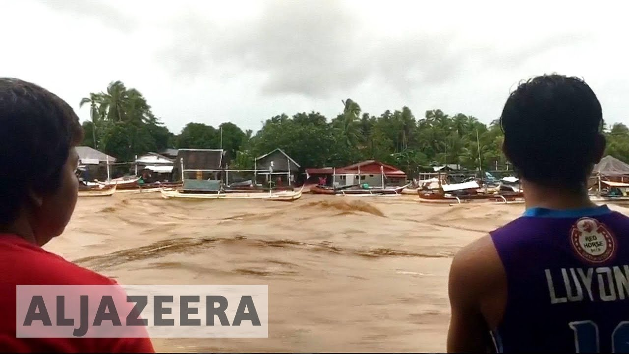 Tropical storm Kai-Tak batters Philippines