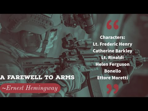 a-farewell-to-arms-by-ernest-hemingway-(summary-&-critical-analysis-of-the-novel)