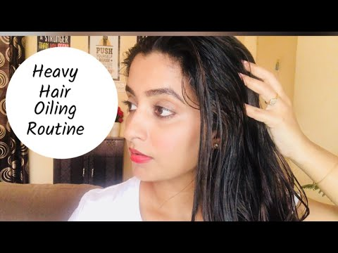 My Heavy Hair Oiling Routine | Merit VCO Extra Virgin Coconut Oil Benefits