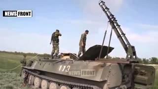 Ополченцы Испытывают 'Змей Горыныча' Новости Новороссии War in Ukraine Донбасс