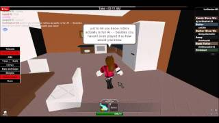 .... hangout with friends/tell someone roblox doesnt suck XD