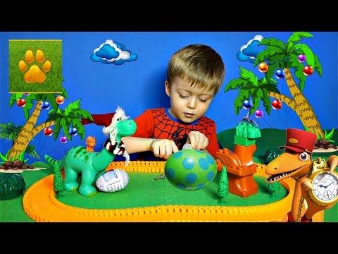 ДИНОЗАВРЫ Арло и Яйцо Динозавра Сказка про Динозавров Сборник Детское Видео про Динозавров для Детей
