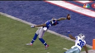 Top 5 One Handed Catches in Football History thumbnail
