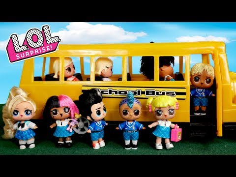Barbie LOL Family First Day of School Morning Routine