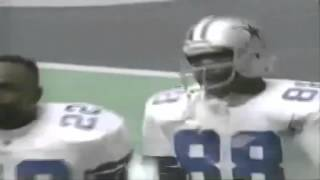 Michael Irvin's Crazy one handed grab for a TD - Cowboys Chiefs 1995