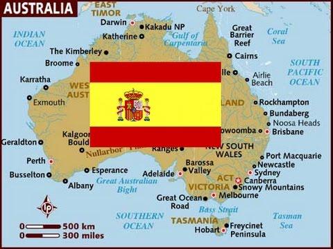 Map Of Australia Youtube.Alternate History Spanish Australia