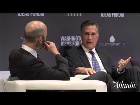 Mitt Romney / Washington Ideas Forum 2015