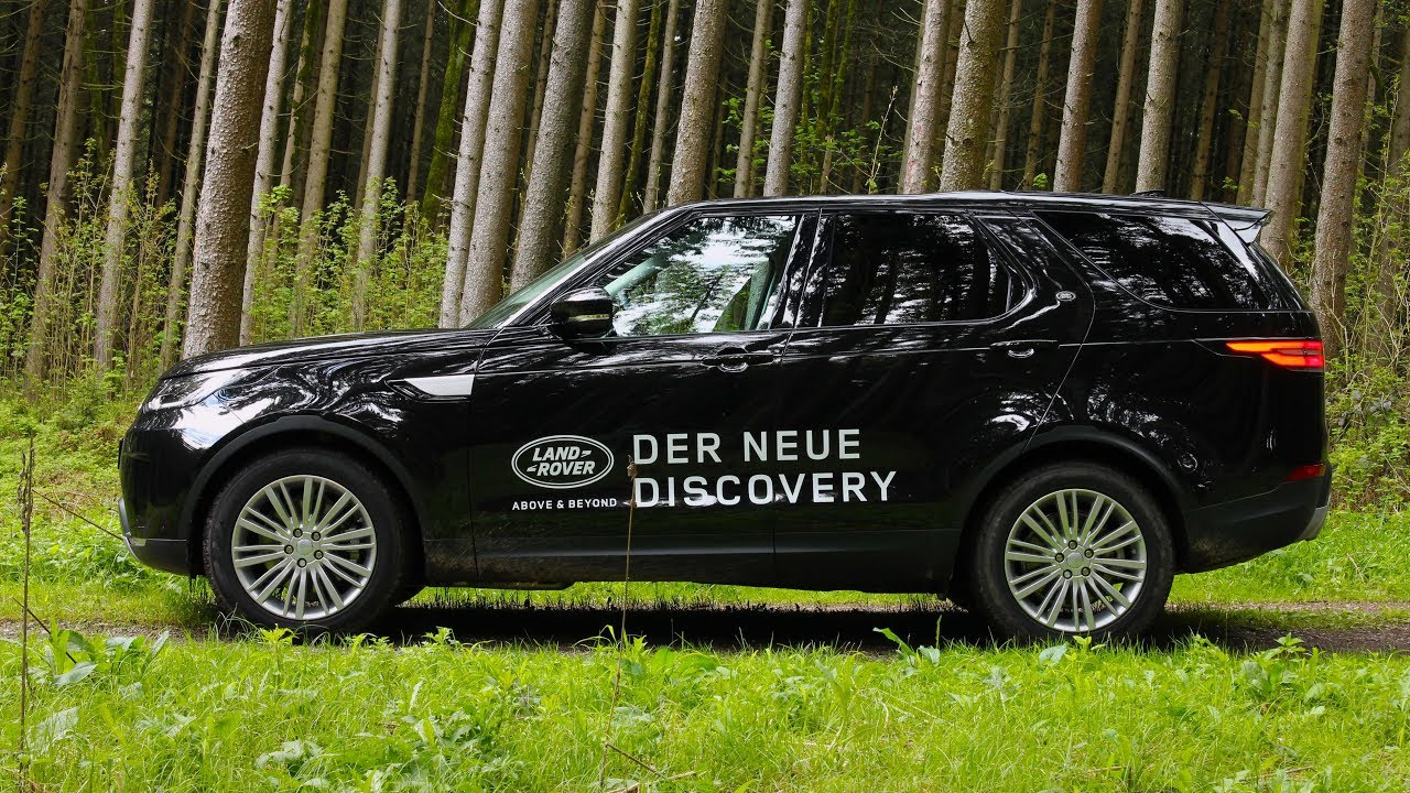 2017 land rover discovery | review (german) - youtube