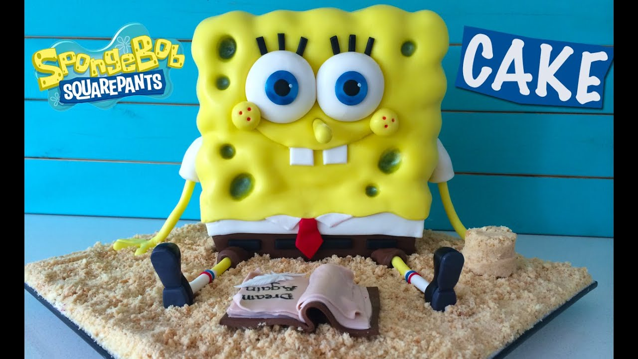 Spongebob Out of Water Movie Cake HOW TO COOK THAT Ann Reardon YouTube
