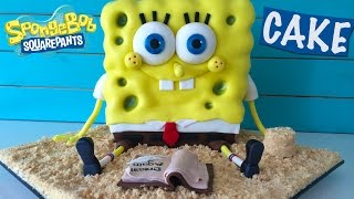 Repeat youtube video Spongebob Out of Water Movie Cake HOW TO COOK THAT Ann Reardon