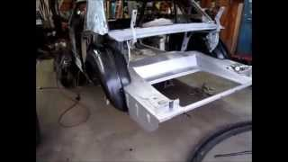 1965 Mustang wheel house part 2