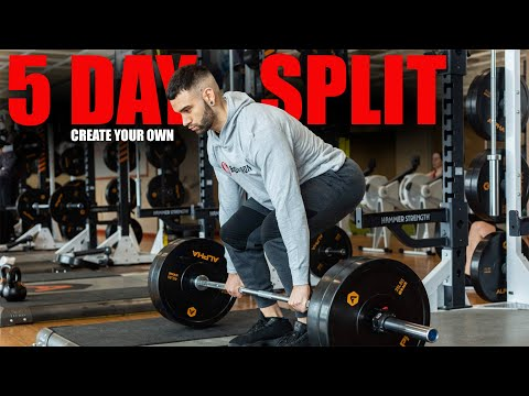 Create Your Own 5 Day Workout Split | Explained