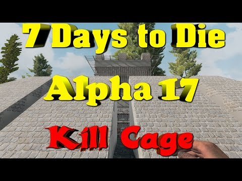 7 Days to Die Alpha 17 - Solo Base Preview with Day 70 Horde Attack