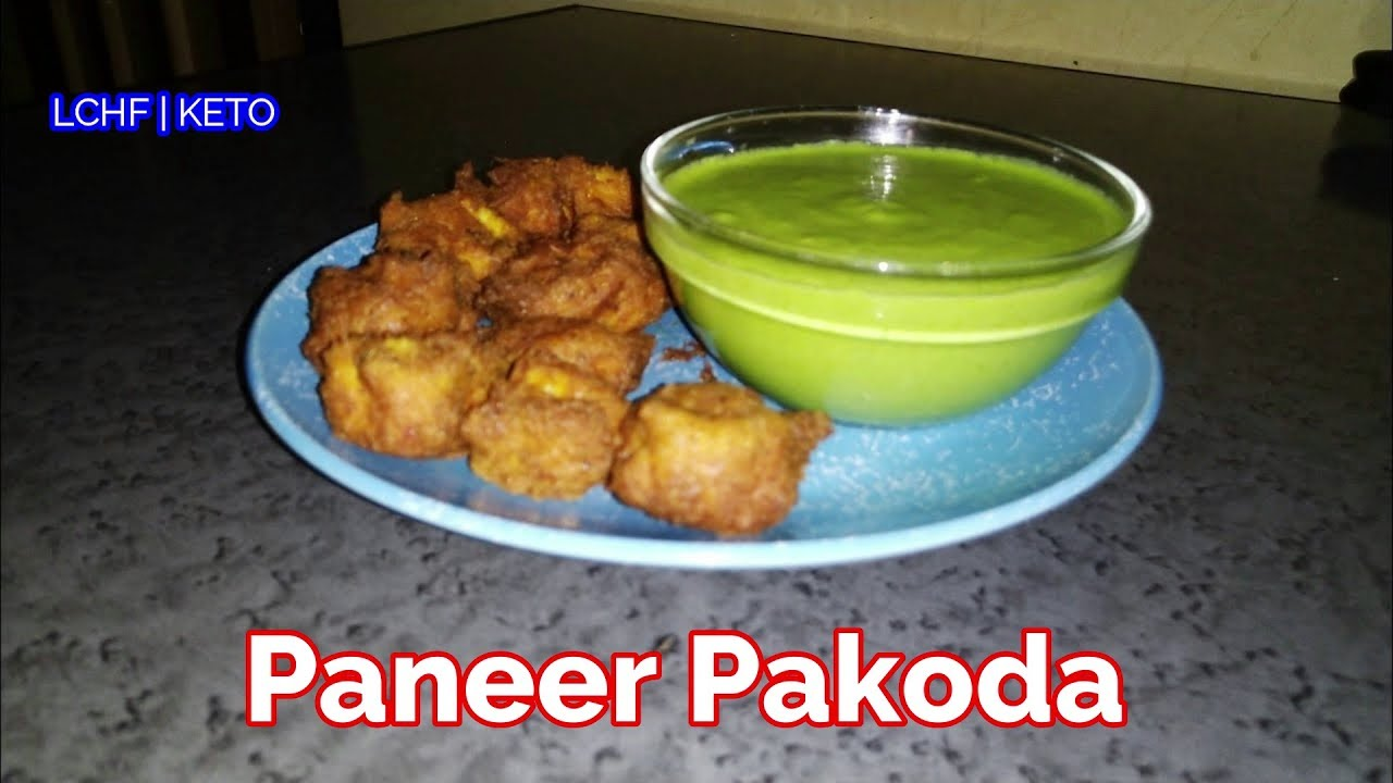 Paneer Pakoda | Diabetic Friendly | LCHF-KETO Recipes | English Titles