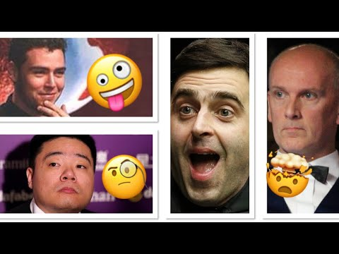 Top 5 WEIRDEST Moments In Snooker History! 🤪🤪