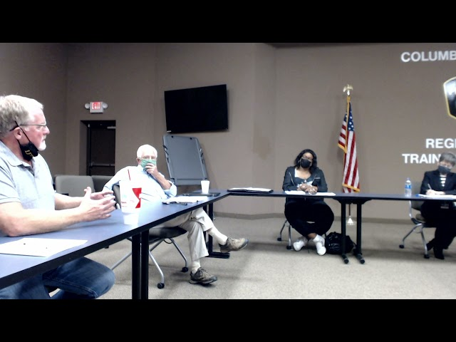 Columbia MO Vehicle Stop Committee on Training 20210914