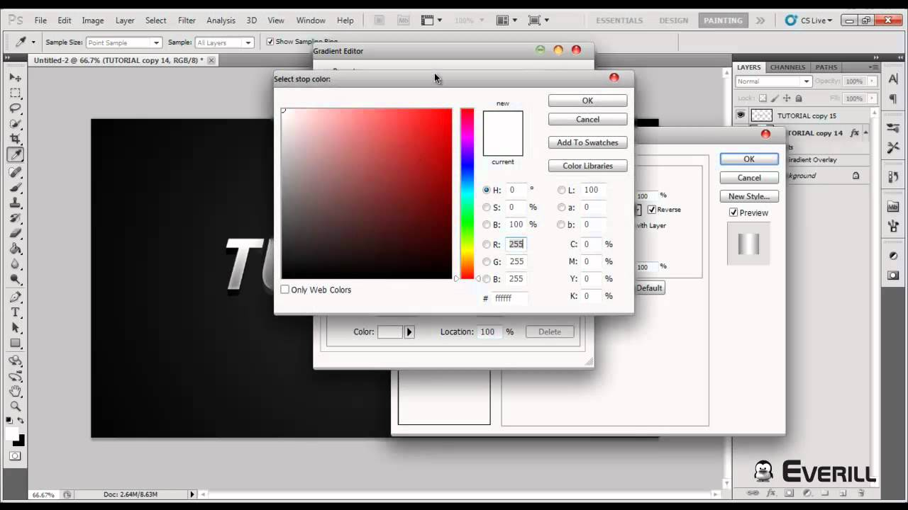 how to make 3d text in photoshop cs5 extended
