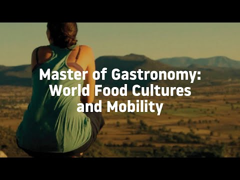 Master of Gastronomy: World Food Cultures and Mobility