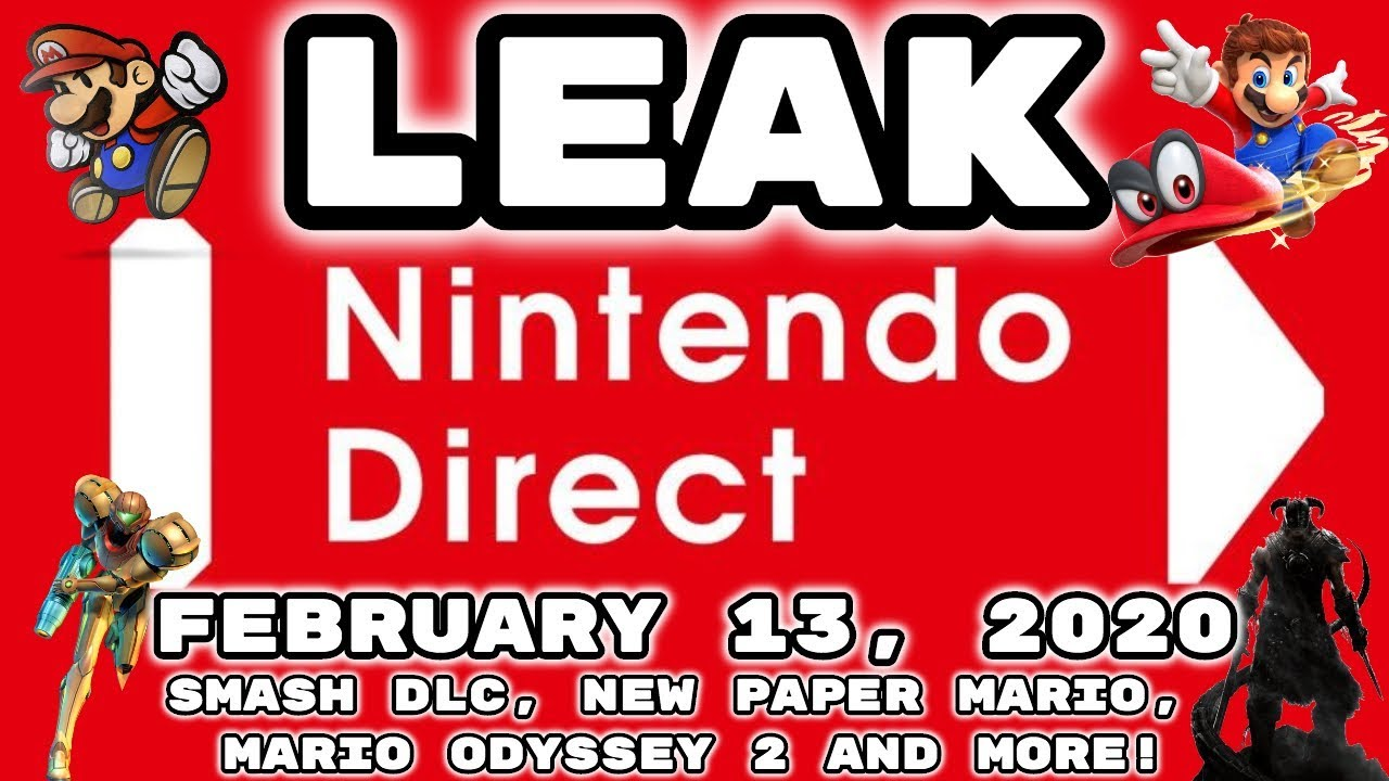 LEAKED Nintendo Direct February 13 ...