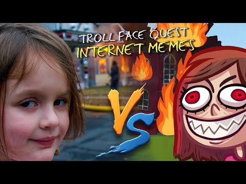 Troll Face Quest.EXE - Internet Memes | Game Vs Reality