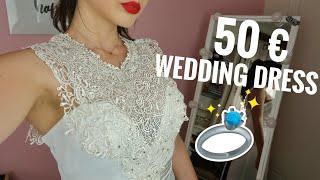 Νυφικό φόρεμα 50 € online | Kate Kasin review | Marianna Grfld