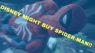 Sony Pictures Entertainment and Spider-Man May Be Up For Sale?!!
