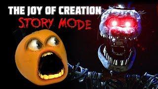 Joy of Creation STORY MODE 1 Annoying Orange Plays