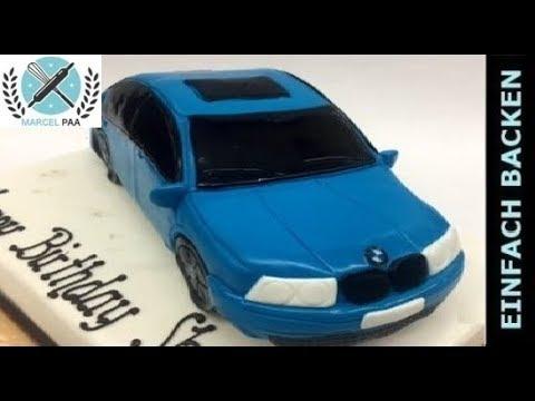 Auto Torte 3D  Car cake  mit Anleitung und Rezept  YouTube