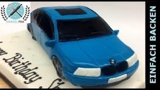 Auto Torte 3D | Car cake | mit Anleitung und Rezept