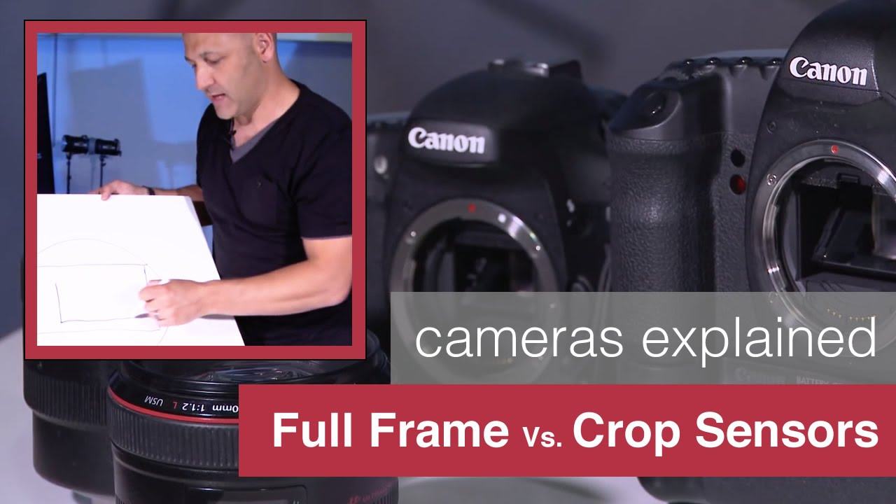 Camera Full Frame Sensor Dslr Cameras full frame sensors vs crop sensor cameras explained by karl taylor youtube