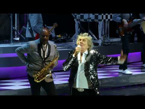 Rod Stewart - Having a party -  Stay With Me - BabyJane - Zagreb 2018.