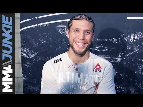 Brian Ortega full UFC Fight Night 123 post-fight interview