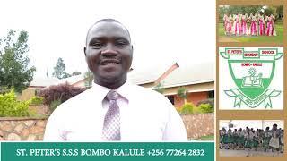 St Peters Secondary School in Bombo Kalule, Uganda