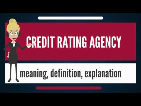 What is CREDIT RATING AGENCY? What does CREDIT RATING AGENCY mean? CREDIT RATING AGENCY meaning