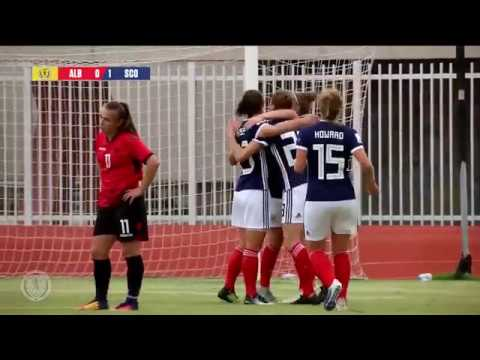 HIGHLIGHTS | Albania 1-2 Scotland | Scotland Women's National Team