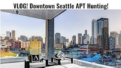 VLOG #1 Downtown Seattle Apartment Hunting (WITH PRICES)